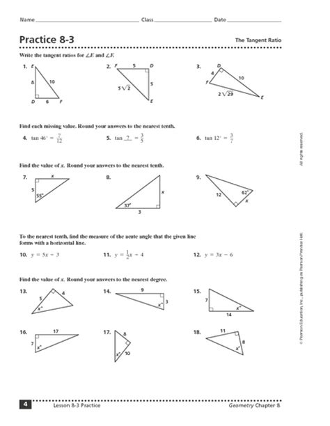 Of Cosines Practice Worksheet by Sine Cosine Tangent Worksheet Free Worksheets Library