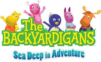 Backyardigans Logo Image The Backyardigans Live On Stage On Tour Logo Sea