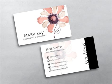 mary kay business cards free shipping