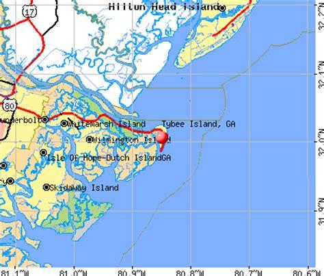 map tybee island