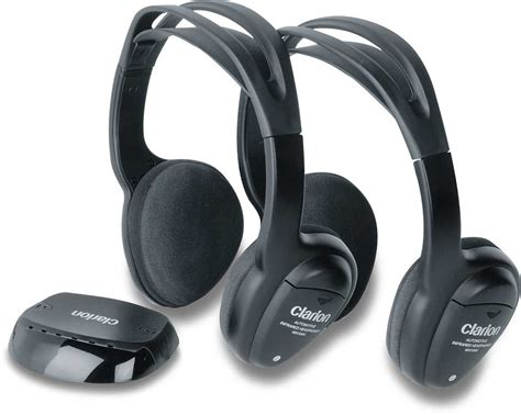 Headphone Clarion Pro 2830 Clarion Wh104 Infrared Wireless Headphone System At