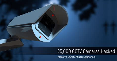 iot botnet 25 000 cctv cameras hacked to launch ddos attack