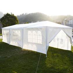 How To Make A Gazebo Canopy by 10 X 30 White Party Tent Gazebo Canopy