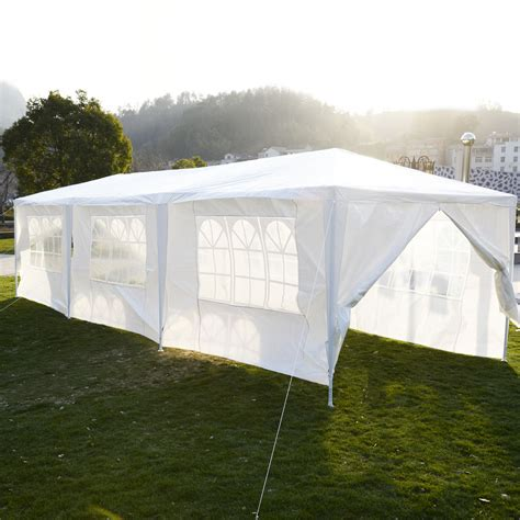 fliese 10 x 30 10 x 30 white tent gazebo canopy