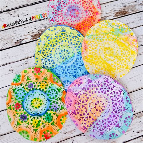 beautiful crafts beautiful easter egg doily craft for inspired by
