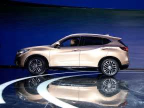 Acura Cdx New Acura Cdx Compact Suv Makes Official Debut At Beijing