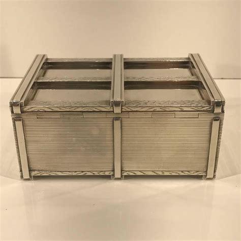 danish desk in a box danish modern solid sterling crate motif box by i
