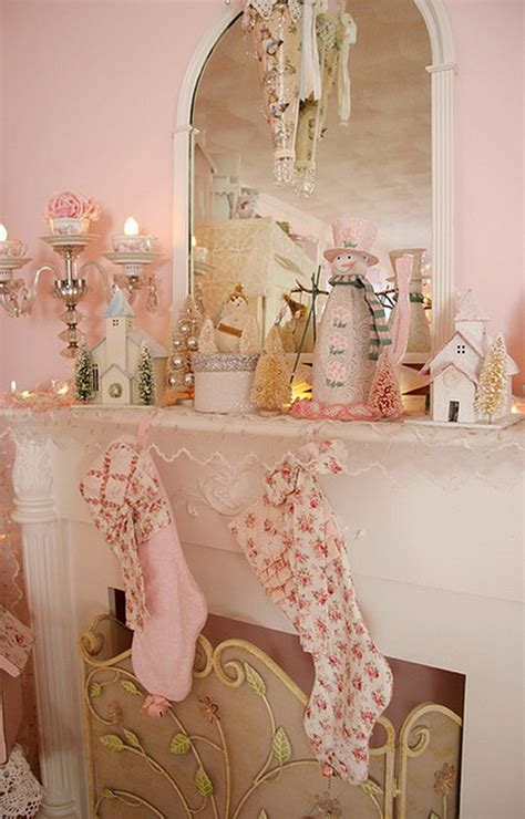 25 shabby chic decorating ideas to brighten up home glamorous pastel d 233 cor ideas to brighten up your christmas