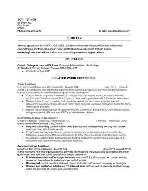 resume templates for of all trades 28 images 23 best