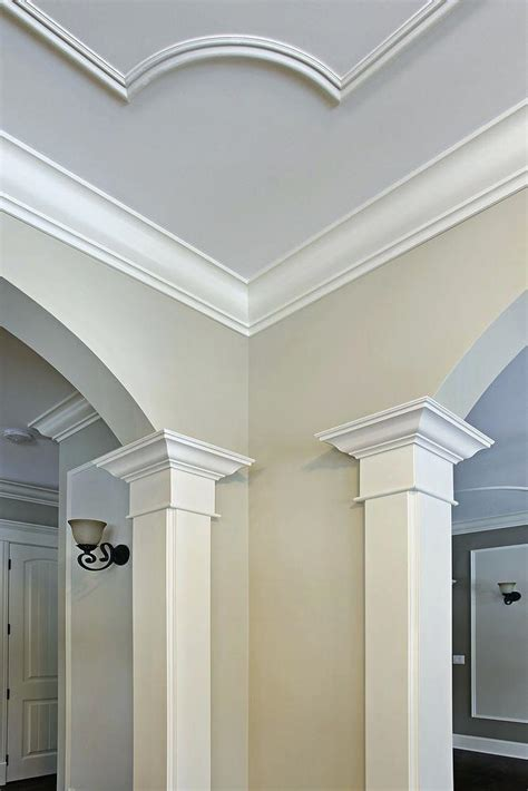 Crown Molding On Angled Ceiling by Crown Molding For Ceiling Beechridgecs