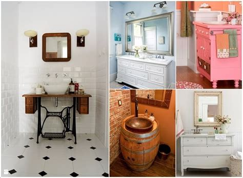 Recycled Bathroom Vanities by 12 Amazing Recycled Material Bathroom Vanity Ideas