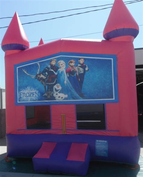 disney bounce house frozen themed jumpers for rental in modesto ca party invitations ideas