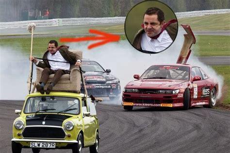 mr bean sofa on car mr bean car race cars mr bean and beans