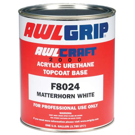 acrylic paint polyurethane awlgrip matterhorn acrylic urethane paint white gallon