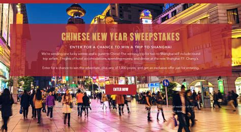 Pf Changs Sweepstakes - featured sweepstakes win a 7 night trip to shanghai insideflyer