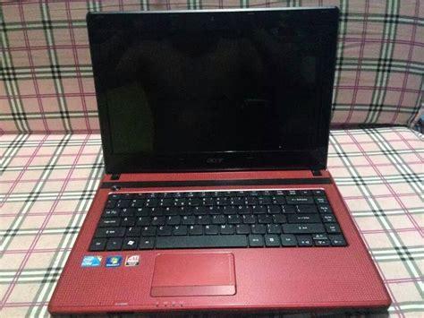 Laptop Acer Aspire 4738 Intel I3 acer aspire 4738zg intel i3 25ghz gaming laptop