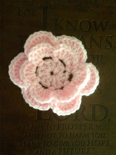 crochet layered flower pattern youtube pin by francia oxley on crochet patterns to try pinterest
