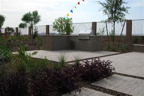 backyard landscaping phoenix model home backyard landscape phoenix by republic