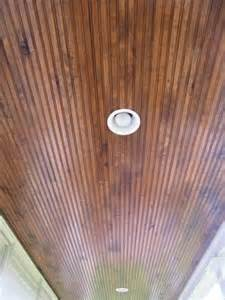 stained beadboard porch ceiling 17 best images about bead board front gable ceiling on