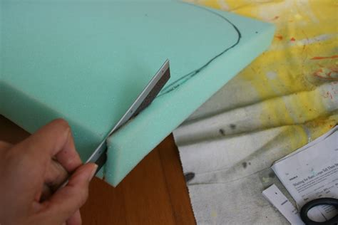 How To Cut Foam For Upholstery by How To Reupholster A Chair C R A F T