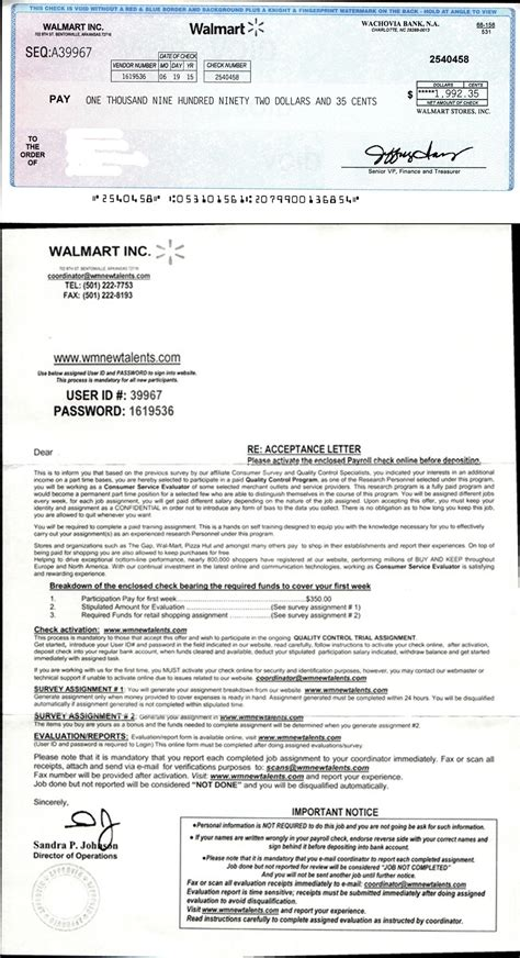 Walmart Background Check Email Walmart Mystery Shopper Scam Resurfaces Cso