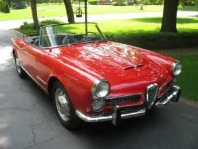 Alfa Romeo 1960 1960 Alfa Romeo 2000 Spider Bring A Trailer