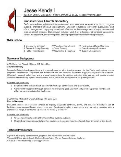 resume templates for a pastor pastor resume sle jennywashere com