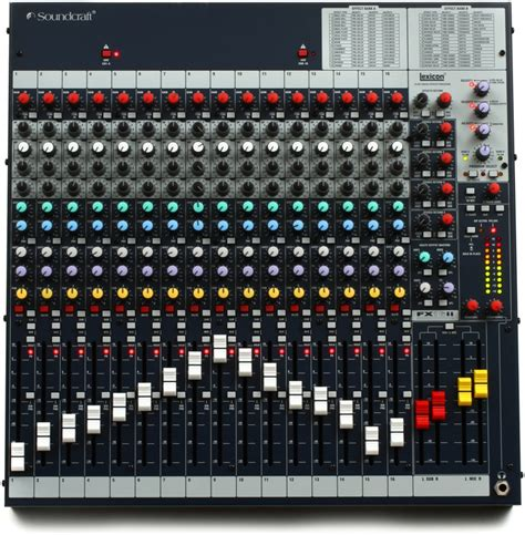 Mixer Soundcraft Fx16ii soundcraft fx16ii mixer with effects sweetwater