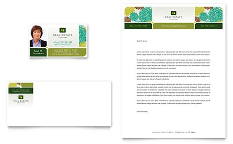 indesign business card template free real estate real estate business card letterhead template design