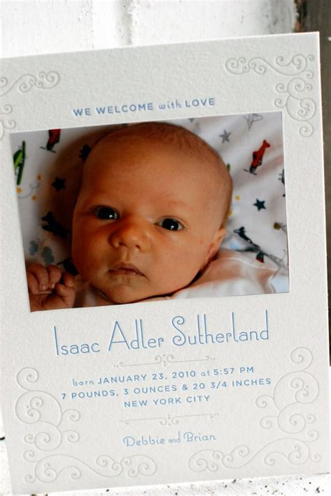 letterpress wedding announcement weber letterpress baby announcements figura