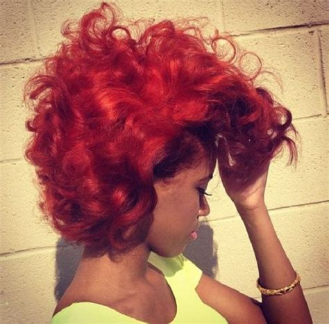 relaxed color 20 red natural hair colors you cannot miss this summer