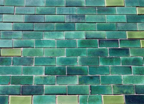Wall Tile Murals portugal green glazed bricks custom wallpaper