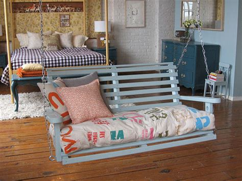 swing inside using outdoor indoor furniture to improve your home