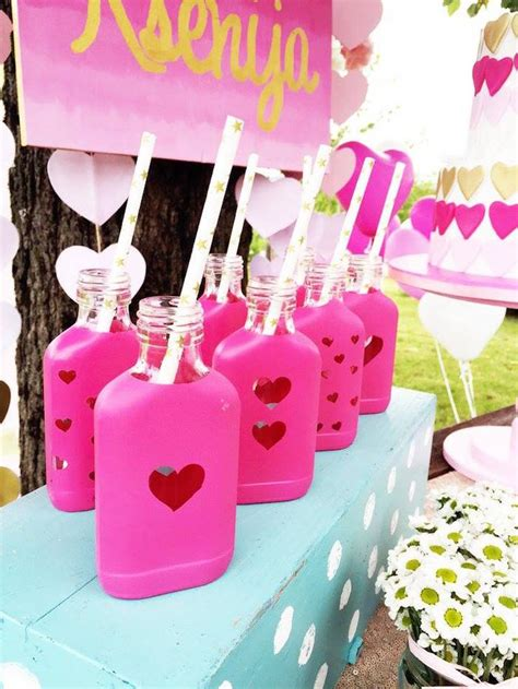 birthday themes for love kara s party ideas love pink ombre gold birthday party