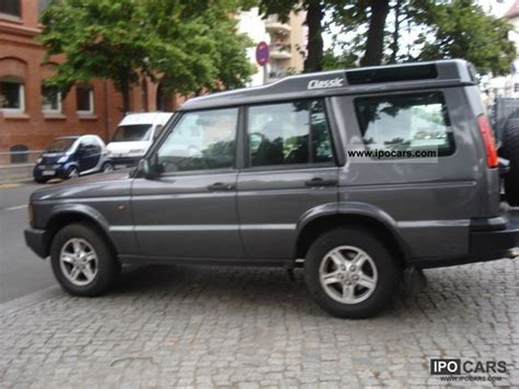 how make cars 2004 land rover discovery transmission control 2004 land rover discovery td5 e automatic transmission air conditioning car photo and specs
