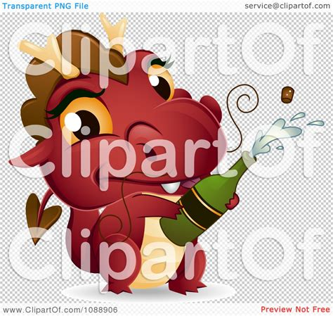 chagne bottle cartoon chagne popping clipart