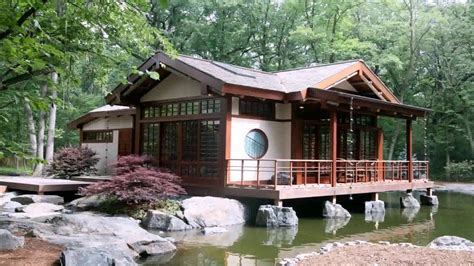 japanese style houses traditional japanese style house in america youtube
