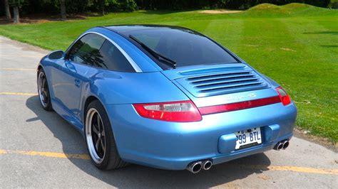 vintage porsche blue cpo 2008 porsche 911 carrera 4 paint to sle vintage