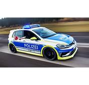 VW Golf R Tuned By Oettinger Looks Mean As German Police Car