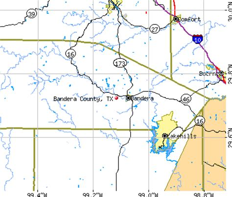 map bandera texas bandera county texas detailed profile houses real estate cost of living wages work