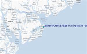 johnson creek bridge island south carolina tide