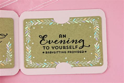 Babysitting Gift Card - a kept life waltzingmouse gift card it st die set preview
