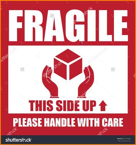 01 Fragile Sticker Label Stiker 6 fragile this side up appeal leter