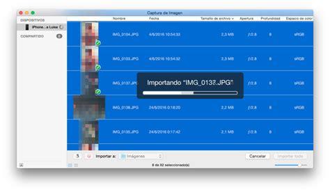 pasar imagenes a pdf mac c 243 mo pasar nuestras fotos del iphone al mac tecnolog 237 a