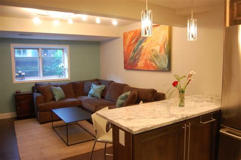 basement apartment contemporary basement denver by