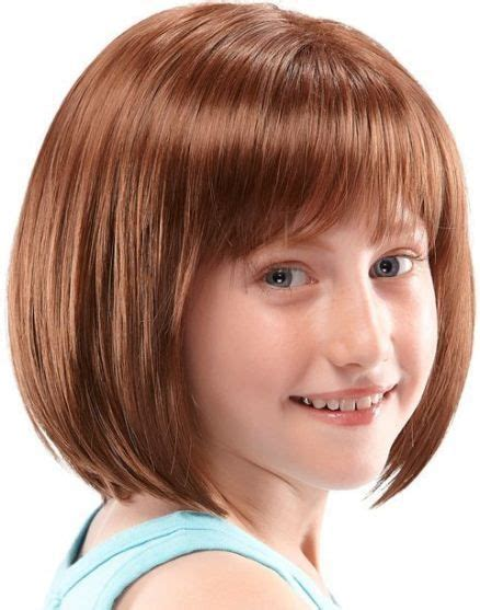 haircut for 8year w bangs 25 best ideas about kids short haircuts on pinterest