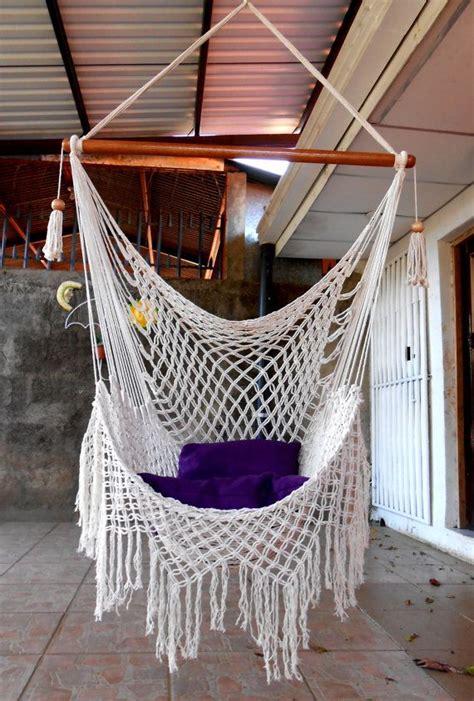 macrame swing swing chair macrame special by hangandswing on etsy etta