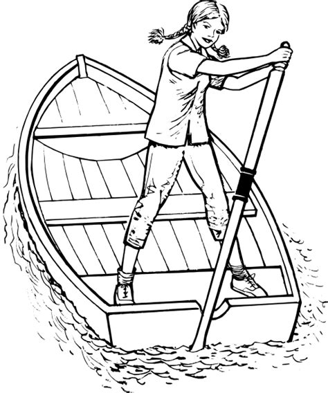houseboat clipart black and white scull clipart i2clipart royalty free public domain clipart