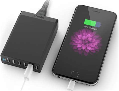 Charger Desktopchargeran Kodok family sized desktop 6 port usb charger by anker 187 gadget flow