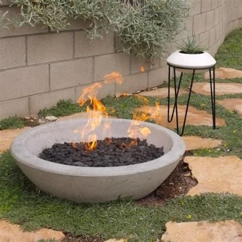 cement pits pits quot the wok quot pit potted los angeles diy